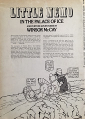 Verso de Little Nemo in Slumberland (Divers) - Little Nemo in the Palace of Ice and further adventures by Winsor McKay