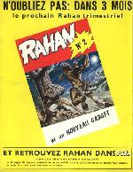 Verso de Rahan (1e Série - Vaillant) -0HS- Rahan