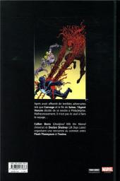 Verso de Venom vs Toxine - La nuit des tueurs de symbiotes