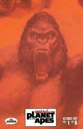 Verso de Revolution on the Planet of the Apes -1- (sans titre)