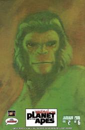 Verso de Revolution on the Planet of the Apes -2- (sans titre)