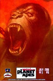 Verso de Revolution on the Planet of the Apes -5- (sans titre)