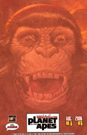 Verso de Revolution on the Planet of the Apes -6- Explosive Final Issue!