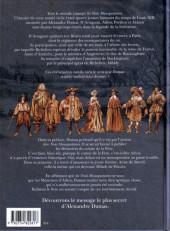 Verso de Milady ou le Mystère des Mousquetaires