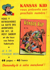 Verso de Kansas kid (Nat présente) -93- Numéro 93