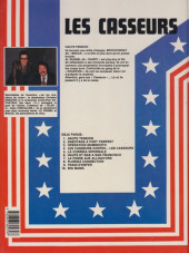 Verso de Les casseurs - Al & Brock -1b1984- Haute tension