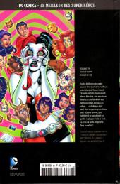 Verso de DC Comics - Le Meilleur des Super-Héros -89- Harley Quinn - Dingue de toi