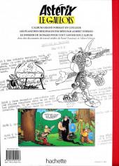Verso de Astérix (albums Luxe en très grand format) -1- Astérix le Gaulois