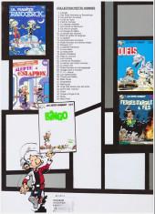 Verso de Les petits hommes -25a2001- Petits hommes et mini-gagagags