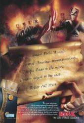 Verso de Thunderbolts Vol.1 (Marvel Comics - 1997) -22- Decisions part 3: Taking a stand
