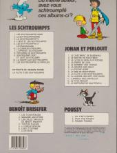 Verso de Johan et Pirlouit -9c1985- La flûte à six schtroumpfs