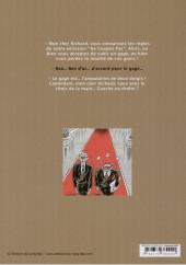 Verso de La corde du pendu soutient l'unijambiste - Tome 1