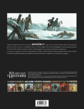 Verso de Ils ont fait l'Histoire -13a2018- Napoléon - Tome 3/3