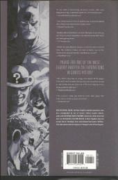 Verso de Batman Vol.1 (DC Comics - 1940) -INTHC2- Hush - Volume 2