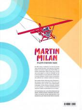 Verso de Martin Milan pilote d'avion-taxi (Intégrale) -1- Intégrale 1