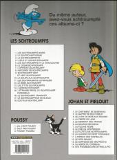 Verso de Les schtroumpfs -6c08- Le cosmoschtroumpf