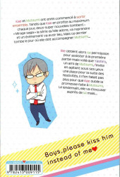Verso de Kiss him, not me ! -13- Tome 13