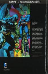 Verso de DC Comics - Le Meilleur des Super-Héros -HS11- Justice League - Infinite Crisis - 4e partie