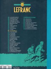 Verso de Lefranc - La Collection (Hachette) -12- La camarilla