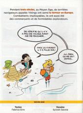 Verso de Le fil de l'Histoire (raconté par Ariane & Nino) -a2019- Les Vikings (Marchands et pirates)