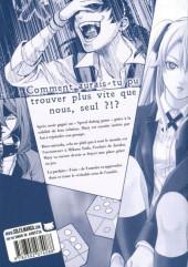Verso de Gambling School - Twin -3- Volume 3