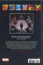 Verso de Marvel Comics - La collection (Hachette) -12891- New Avengers - Tout Meurt