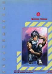 Verso de Cyber Weapon Z -9- La Chute du temple de Shaolin