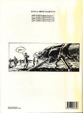 Verso de Jeff Hawke -10- Overlord