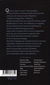 Verso de (AUT) Pratt, Hugo -11- Hugo Pratt - En Verve