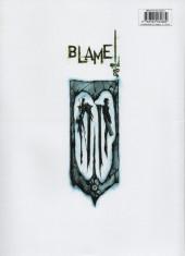 Verso de (AUT) Nihei - Blame and so on