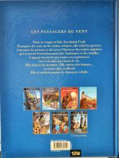 Verso de Les passagers du vent -1g2009a- La Fille sous la Dunette