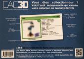 Verso de (DOC) CAC3D -14- CAC3D - Edition 2019 - Para-bd métal