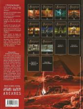 Verso de L'histoire secrète -6a2007- L'aigle et le Sphinx