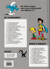 Verso de Les schtroumpfs -4b2009- L'œuf et les schtroumpfs