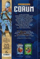 Verso de Les chroniques de Corum -1- Le chevalier des épées