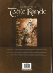Verso de Légendes de la Table Ronde -1a2005- Premières Prouesses