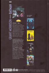 Verso de Batman (Grant Morrison présente) -INT4- Tome 4