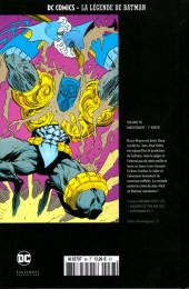 Verso de DC Comics - La légende de Batman -3823- Knightquest - 1re partie