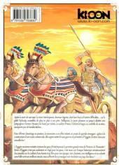 Verso de Reine d'Égypte -5- Tome 5
