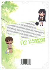 Verso de Classroom for Heroes -2- Tome 2