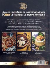 Verso de Astérix (Autres) - Les Banquets d'Astérix