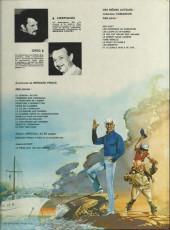Verso de Bernard Prince -2d1981- Tonnerre sur coronado