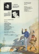 Verso de Bernard Prince -4b1981- Aventure à Manhattan