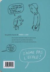 Verso de Les petits tracas de Théo & Léa -13- J'aime pas l'école