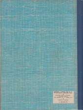 Verso de (Recueil) Spirou (Album du journal) -104'- Spirou album du journal