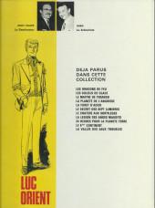 Verso de Luc Orient -10a1976- Le 6ème continent