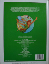 Verso de Les classiques du dessin animé en bande dessinée -19- Peter Pan