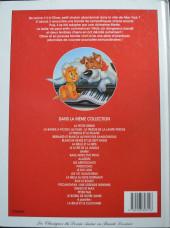 Verso de Les classiques du dessin animé en bande dessinée -21- Oliver & compagnie
