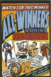 Verso de All Winners Comics (1941) -19FS- The crime of the ages!