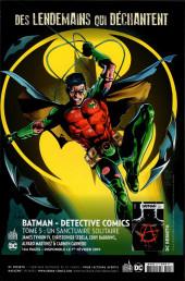 Verso de Batman Rebirth (DC Presse) -21- Tome 21